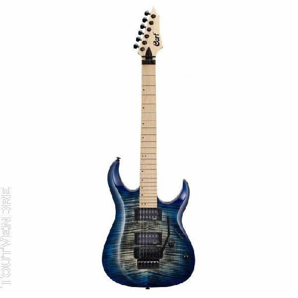 cort x300 - guitare Électrique série x - bleu dégradé