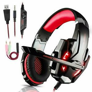 Igrome casque gaming ps4,xbox one/pc/mac/nintendo