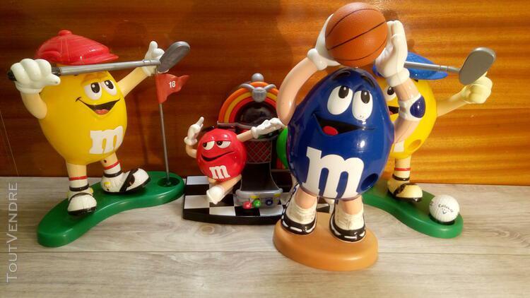 jouets/figurines m&m's en lot ou à l'unité