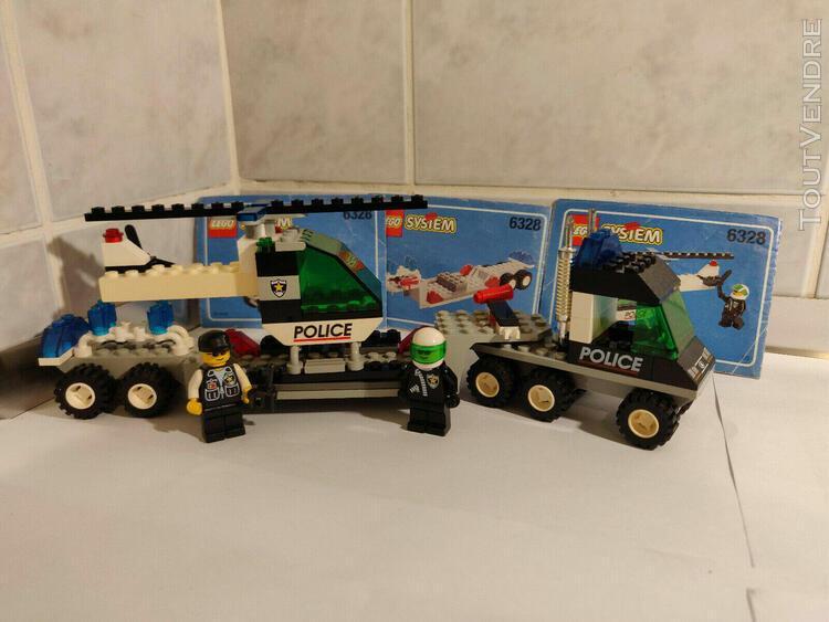 lego - police - helicopter transport - 6328