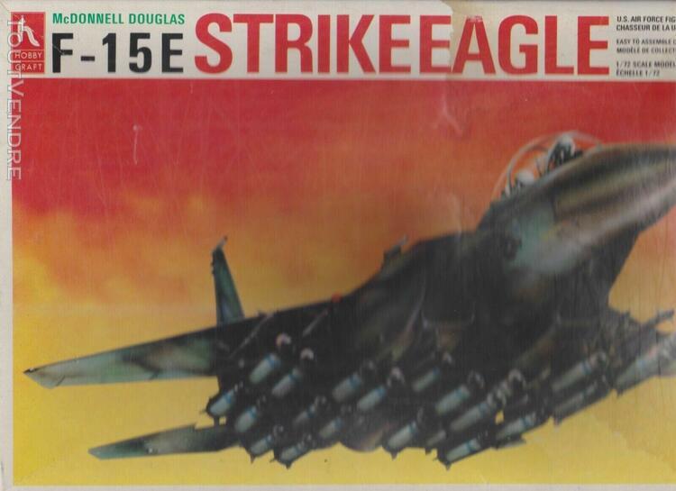 maquette f-15e strike eagle 1/72 de la marque hobby craft, c