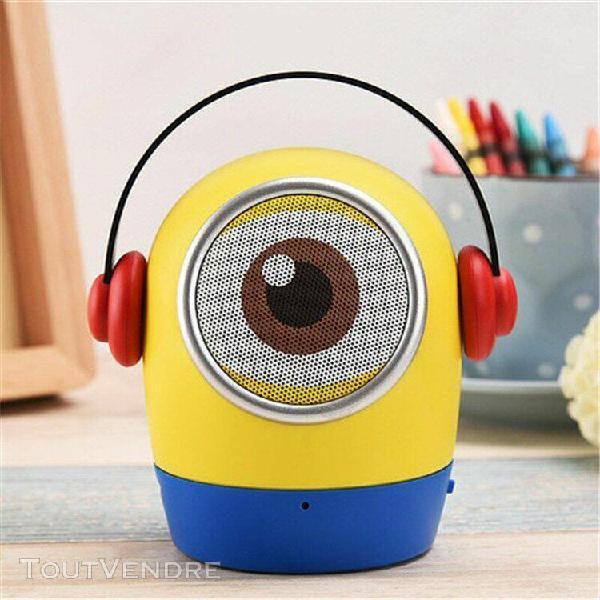 Mini haut-parleur bluetooth pour enfants minions pour haut-p