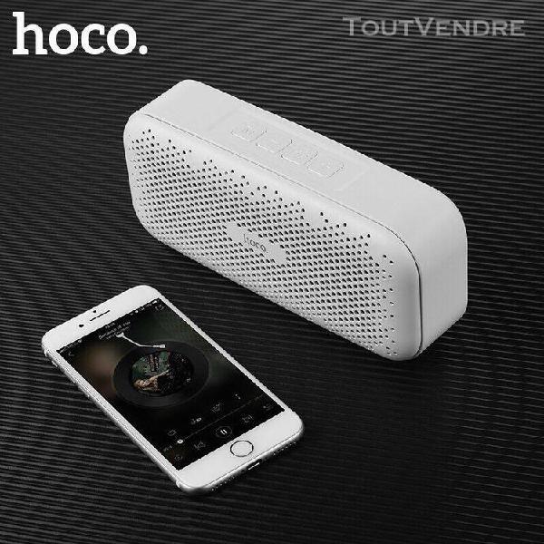 Mini haut-parleur stéréo sans fil bluetooth hoco 5 w