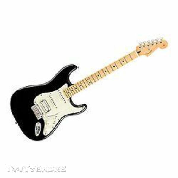Player stratocaster hss mn black