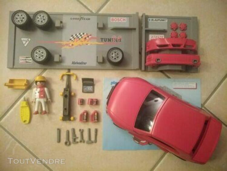 playmobil 4321 voiture tuning rare complet