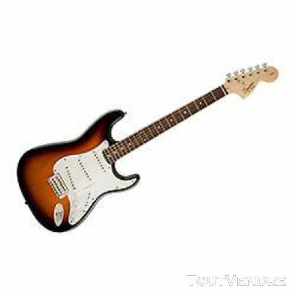 Squier stratocaster affinity brown sunburst - guitare