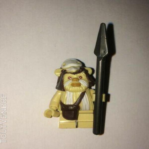 star wars lego 10236 ewok logray sorcier du village ewok