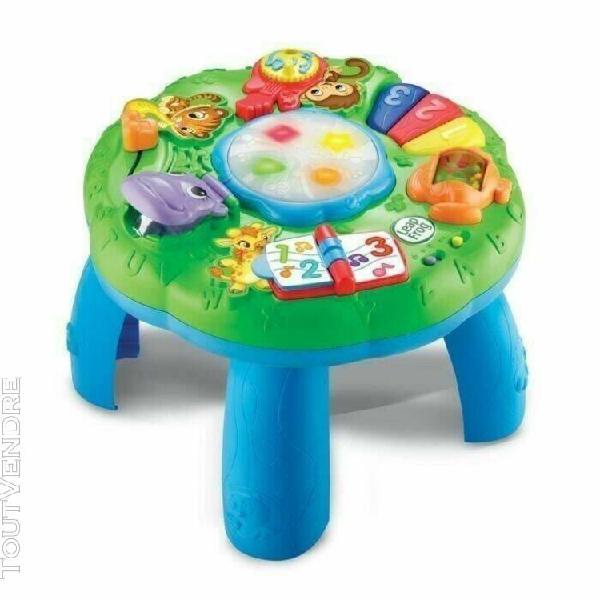 table d'eveil musicale et lumineuse des animaux leapfrog