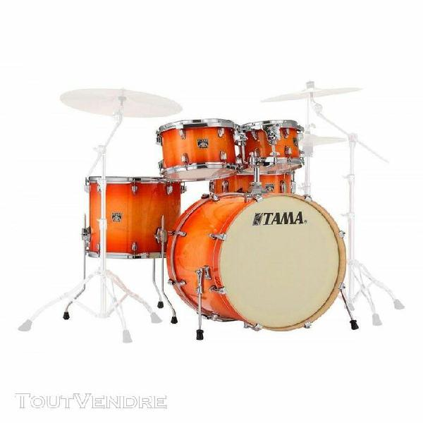 tama superstar classic cl52krs-tlb tangerine lacquer burst -