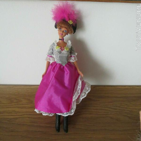 tres belle barbie collection   french cancan  (lire