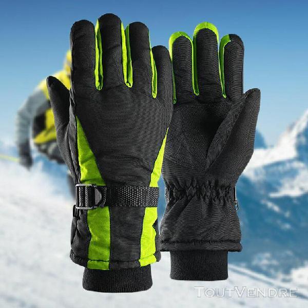 2019 hommes femmes sport d'hiver chaud antidérapants gants
