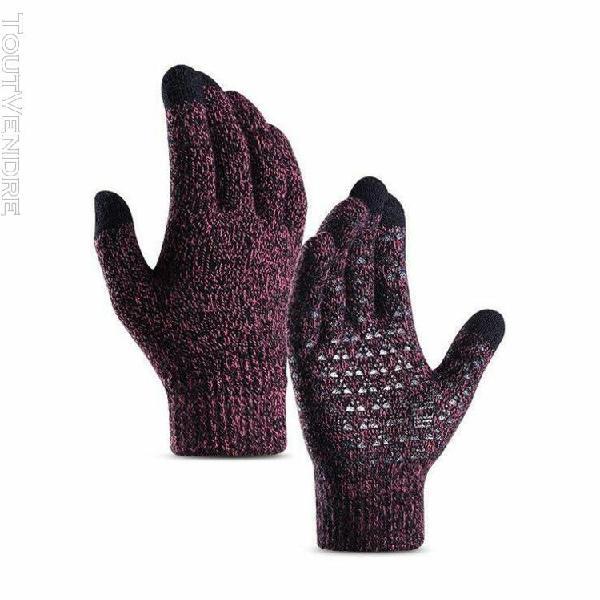 2019 hommes femmes unisexe hiver gants thermiques sports de