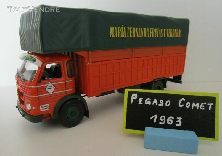 Altaya ixo 1/43 - camions d'autrefois - pegaso comet frutas