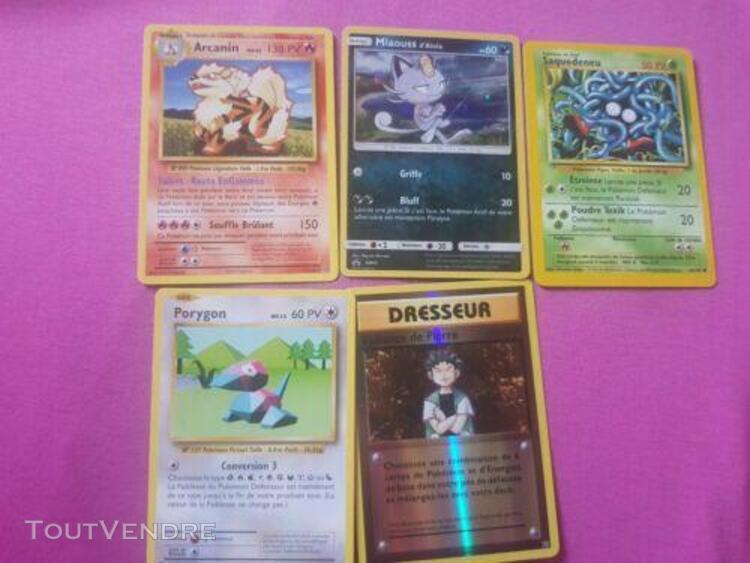 Carte pokemon set de base + holo + xy