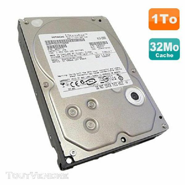 "disque dur 1to sata ii 3.5"" hitachi ultrastar hua721010kla33"