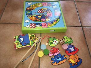 Jeux des tout petits à la ferme (2+) - vilac - jeux en bois