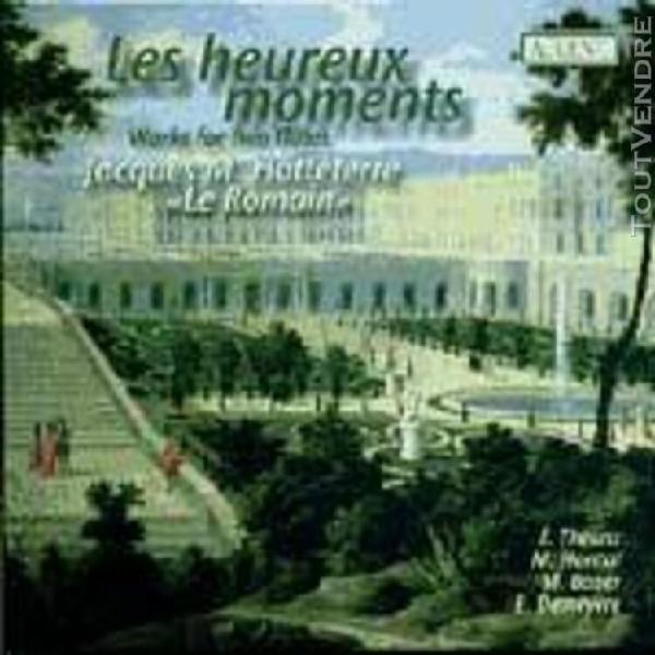 les heureux moments: sonates et suites pour deux flûtes tra