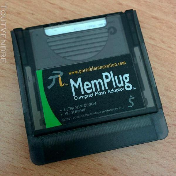 Memplug pour handspring visor mémoire additionnelle.
