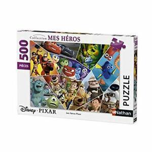nathan- puzzle les héros pixar 500 pièces, 87216