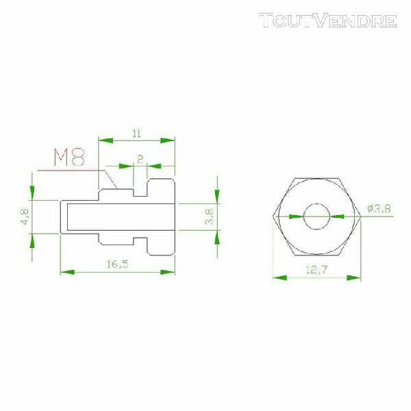 ntc k10 sonde de température sonde fil de câble pour temp