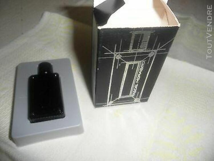 """Rare miniature parfums """"or black"""" de """"morabito"""" - avec boite"""
