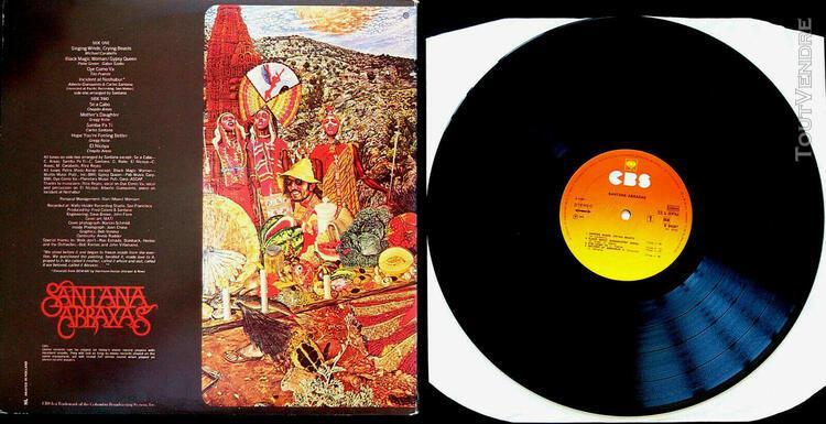 Santana - abraxas (lp / 33 tours) gatefold - holland first p