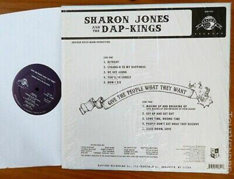Sharon jones & dap-kings - give the people what they want -