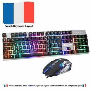 Clavier et souris sades ek-1 keyboard and mouse français