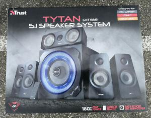 Enceinte trust tytan gxt 658 180watt - 5.1 - neuf