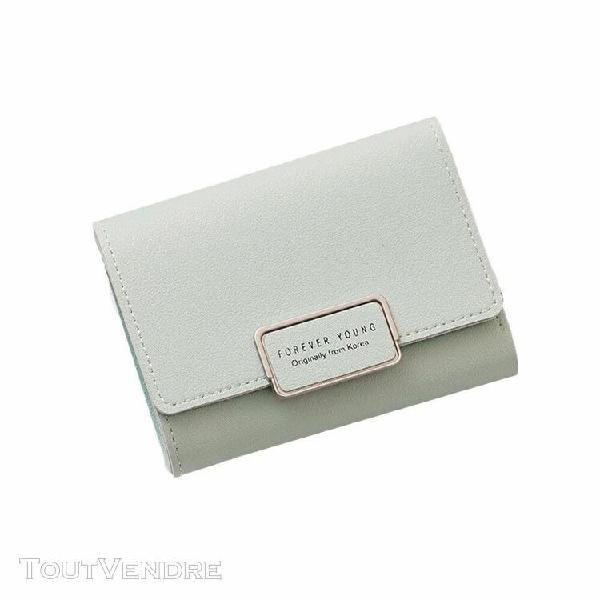 Femmes wallet petit fermeture à glissière carte multi
