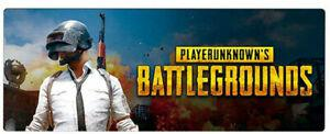 Pubg gaming mouse pad, extended taille xxl desk pad pour