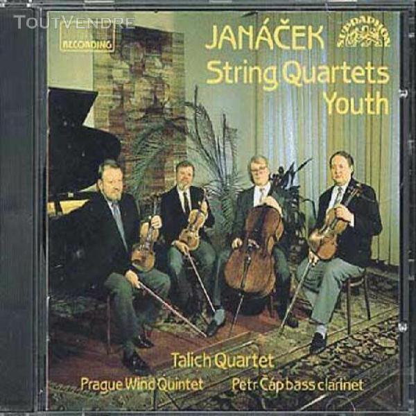 quatuor À cordes nos. 1 & 2, jeunesse quatuor talich