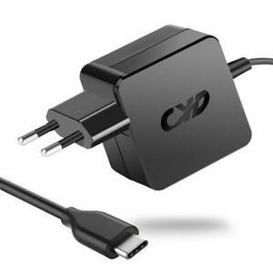 Qyd 65w usb type c alimentation chargeur pour new macbook 12