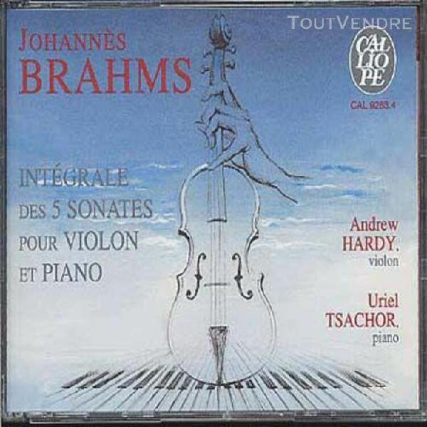 sonates pour violon et piano 1 À 5 - intégrale