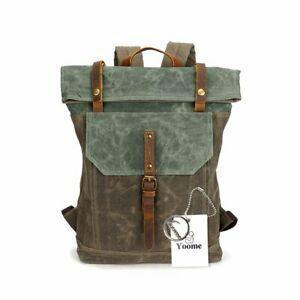 Yoome 15,6 pouces ordinateur portable sac toile sac à dos