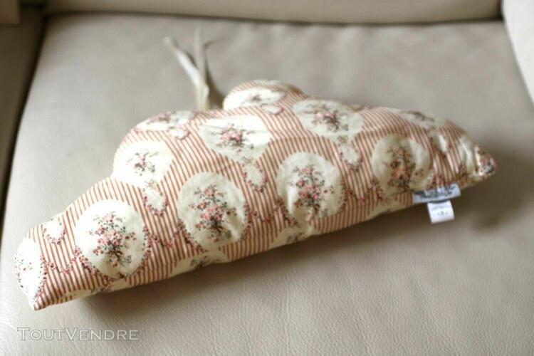 coussin doudou ava & mr joe tissu rembourré coton imprimé