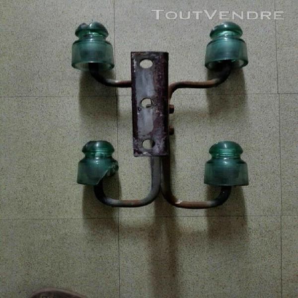 isolateurs Électriques ou porte manteaux usine