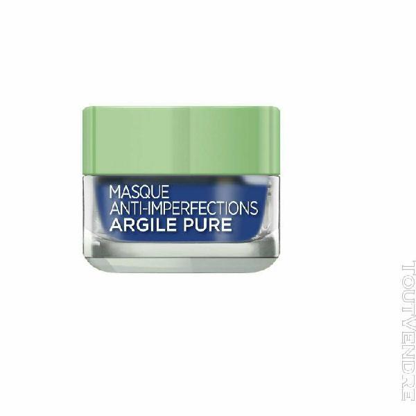 l'oréal paris masque anti-imperfections algue marine peaux