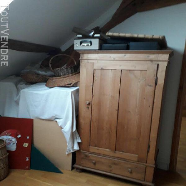 meuble armoire en pin pour rangement