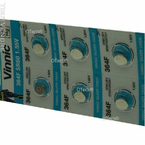 Pack de 10 piles vinnic pour divers sg1 - garantie 1 an