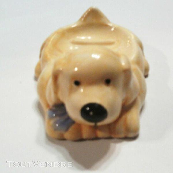 porte savon porcelaine déco chien