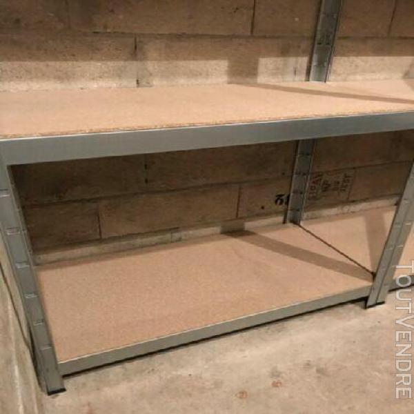 tagères de rangement métal castorama l. 120 x h. 180 x