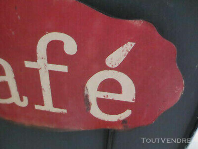 """un portant mural """" plaque café """"... un accroche torchons"""