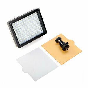 Andoer 160 led lampe de vidéo panneau de lumière 12w