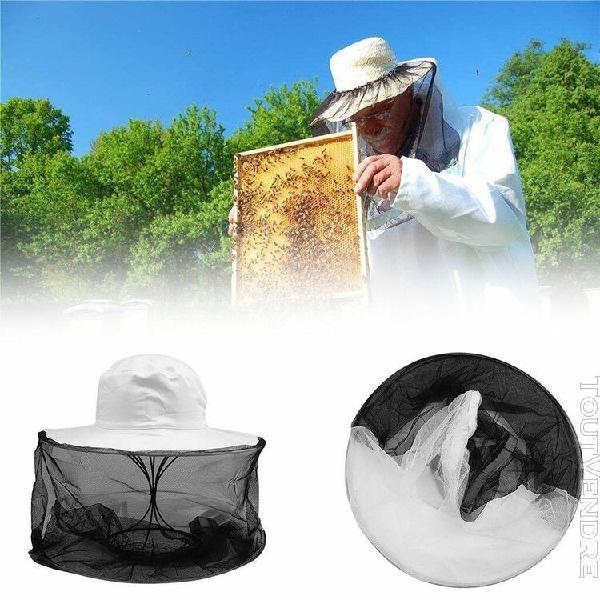 Anti bee cap hat apiculture outil de pêche de beekeeper de