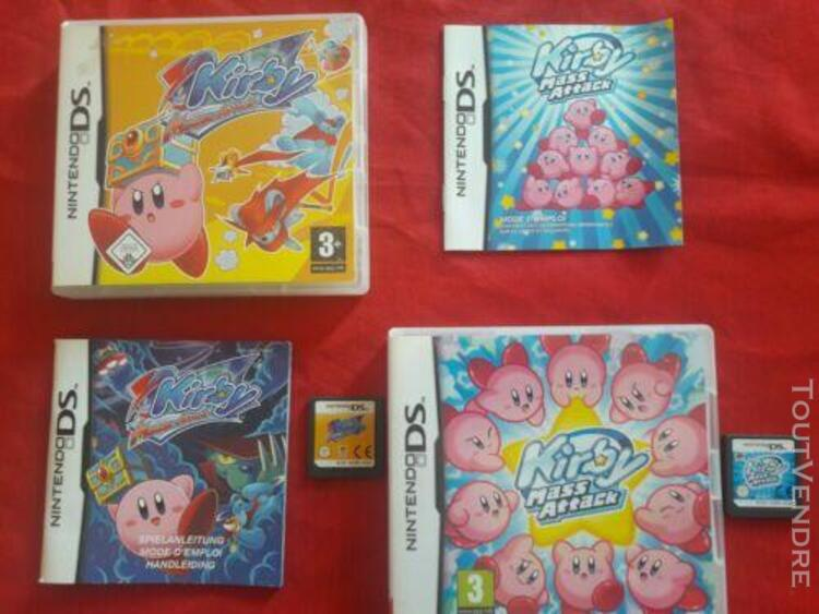 Jeux nintendo ds - kirby mass attack - kirby mouse attack