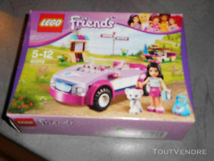 Lego friends le coupe cabriolet d emma 41013 en tres bon eta