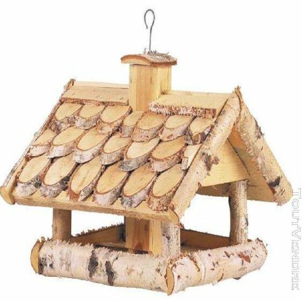 Mangeoire oiseaux en bouleau