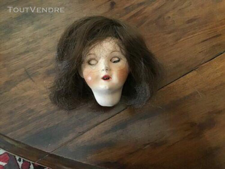 Petite tête de poupée ancienne taille 2