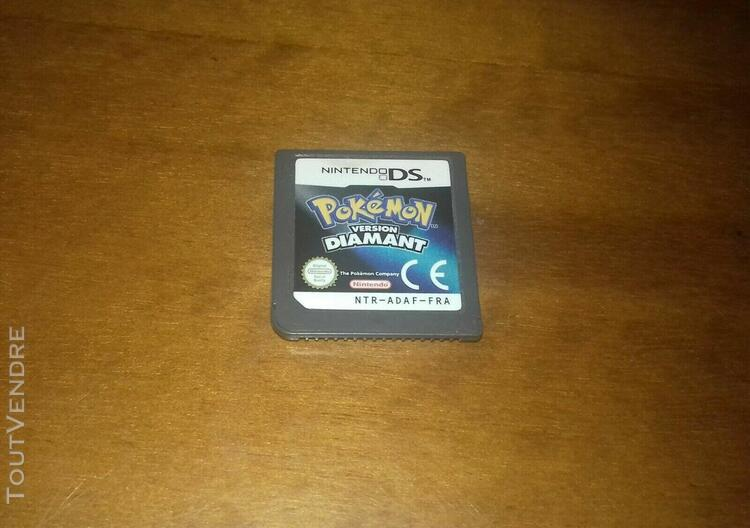 Pokemon version diamant pour nintendo ds, 3ds & 2ds